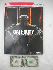 Call of Duty Black Ops III Official Guide PRIMA Covers PlayStation 4 Xbox One PC