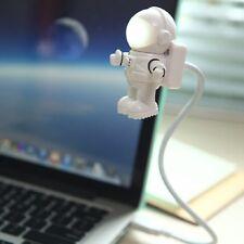 Flexible Astronaut LED USB Night Light Mini Reading Lamp for Laptop PC Notebook