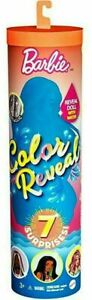 BARBIE Color Reveal Doll Mystery ORANGE Tube SUNNY N COOL Series Wave 3 Metallic