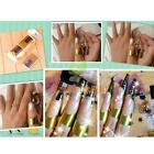 500 pcs Gold Sticker Tool Nail Art Form Acrylic UV Gel Tip Extension Decoration