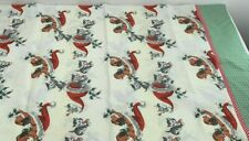 Christmas Standard Single Pillowcase Dogs Cats Hats Vintage Style 1 pillowcase