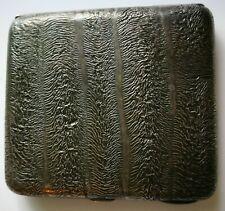 Samorodok Cigarette Case Silver Made in Finland Helsinki 1949