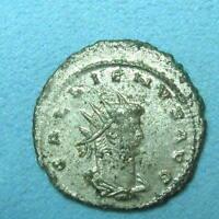 ROME Antoninianus GALLIENUS Roma Aeternae VF Silver Billon #2