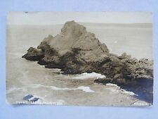 Rppc Ca Point Lobos, Monterey, California! Carmel Real Azo Photo 1920's Postcard