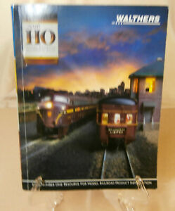 2016 Walthers HO Model Railroad Reference Book / Catalog
