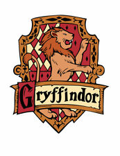 Gryffindor Iron on Screen Print for fabric Machine Washable patch Griffindor