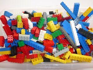 LEGO 100 Basic hohe Grundbausteine hoch bunt 1x1 bis 2x8  zwei - und einreihig