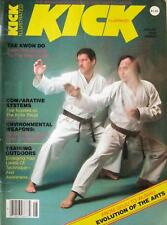 8/82 KICK MAGAZINE TADASHI YAMASHITA MIKE STONE KARATE KUNG FU MARTIAL ARTS