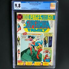 SUPERMAN FAMILY #165 (1974) 💥 CGC 9.8 💥 HIGHEST GRADED (1 OF ONLY 6) Supergirl