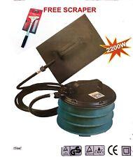 WALLPAPER STRIPPER STEAMER POWERFUL 2200W HEAVY DUTY WALL PAPER FREE SCRAPER