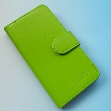 For BLU Life Mobile Smartphone--Folder Flip Folio PU Leather Case Cover