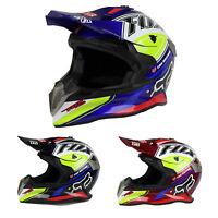 Motorcycle Helmet ATV Dirt Bike Cross Motocross Open Face Helmet Adult Kids HOT
