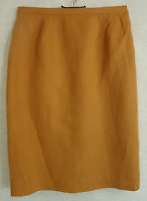 Unifarbene knielange Bleistiftröcke Esprit