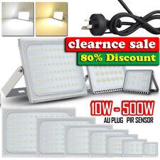 LED Flood Light 10W 20W 30W 50W 100W 150W 200W 300W 500W PIR Sensor/AU PLug/240V