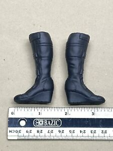"1/6 Hot Toys MMS533 Avenger 12"" series Endgame Black Widow black combat boots"