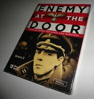 Enemy at the Door: Series Two 2 2nd (DVD Set NEW) Alfred Burke, Bernard Horsfall
