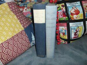 OLD BOOKS PROPS SHELF SHADES BLUE EDWARD WILSON ANTARCTIC EVEREST JOHN HUNT (2)