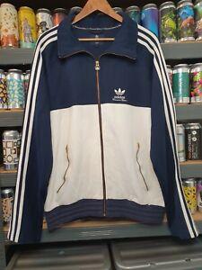 Adidas Mens XL Tournament Edition Tracksuit Jacket Track Top Vintage Rare