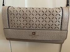 Kate Spade Nude Beige Shoulder Bag Handbag Purse Leather
