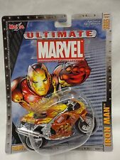 Maisto Ultimate Marvel Motorcycle Collection - Iron Man Triumph Daytona 955i M5