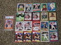 Craig Biggio 1988 Score Traded RC PSA 8 + 20 Card Bundle 1980s-1990s Topps HOF