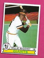 1979 TOPPS # 215 GIANTS WILLIE MCCOVEY NRMT CARD  (INV# C2802)