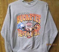 Ohio State Buckeyes Sweatshirt XL Gray Color 2003 Fiesta Bowl Arizona #3
