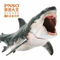 White Shark 20cm Megalodon Movie Archetype The Meg Mouth Can Be Opened Great