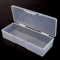 Plastic Clear Jewelry Bead Craft Organizer Arts DIY Box Storage Container Case