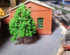 5 miitelgrüne Laubbäume, 70 mm hoch