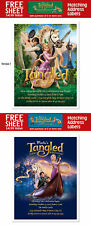 8 Tangled Movie Rapunzel Birthday Party Personalized Invitations