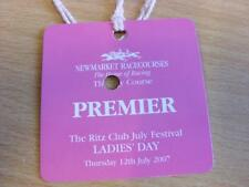 12/07/2007 Newmarket Races - Horse Racing Badge (good condition with no apparent