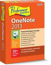 Professor Teaches OneNote 2013, Interactive Traning Lessons,Tutorials Courses