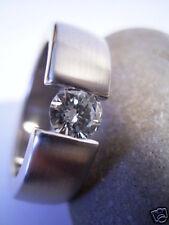 Reif-Design-finos brillante de sujeción anillo de oro propia herreros-oro 585