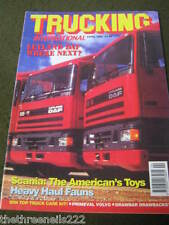 TRUCKING INTERNATIONAL - HEAVY HAUL FAUNS - APRIL 1993
