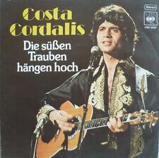 """7"""" 1977! COSTA CORDALIS : Die süßen Trauben hängen hoch"""