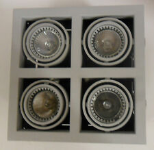 Christopher Wray industrial recessed ceiling light with 4 swivel heads.