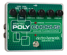 Electro-harmonix Stereo Polychorus - Analog flange Chorus