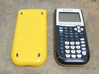 Texas Instruments TI-84 Plus Graphing Calculator NO POWER FOR PARTS ONLY