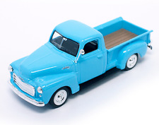 New In Box  Road Signature 1/43 Scale Diecast  Blue 1950 GMC PICK UP Truck