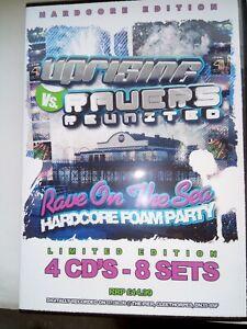 UPRISING -7.8.09-HARDCORE FOAM PARTY - HARDCORE EDITION 4 CDs - 8 SETS.