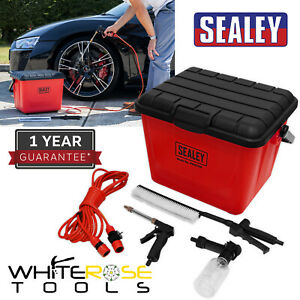 Sealey Rechargeable Pressure Washer 25L 12V