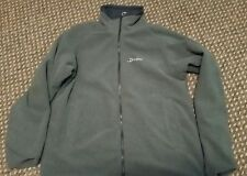ladies berghaus jacket - reversible rainproof/fleece size 14 dark blue and grey