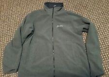 ladies berghaus jacket - reversible rainproof/fleece size 14 dark blue and grey