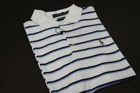 POLO RALPH LAUREN Men's Custom Slim-Fit Stripe Polo Shirt NEW NWT
