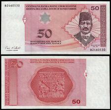 More details for bosnia herzegovina 50 maraka (p67b) n. d. (2002) unc