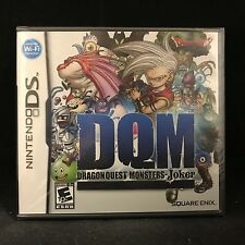 Dragon Quest Monsters: Joker (Nintendo DS, 2007) BRAND NEW / Region Free