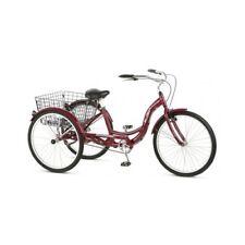 Schwinn Cruiser Bicycle Tricycle Adult Classic Ride Basket 3 Wheel 26 Trike Red