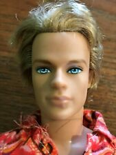 Barbie Ken Doll Blond Hair blue eyes Surfer Rooted Hair articulated knees