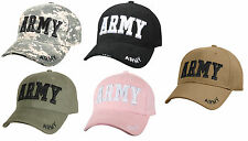 Army Baseball Cap Embroidered Military Hat Rothco 9488
